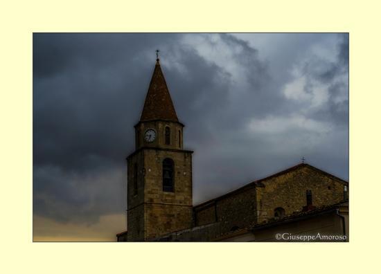 Temporale d'agosto su Castelnuovo della Daunia (1021 clic)