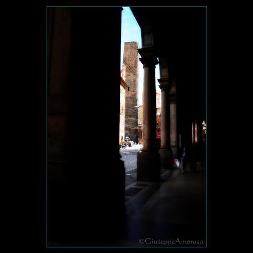 Portico bolognese - Bologna (2372 clic)