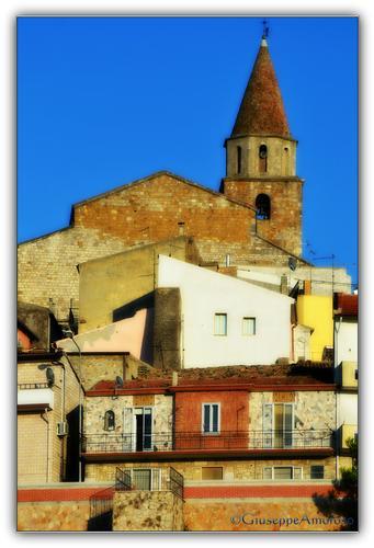 Campanile della Chiesa Madre - Castelnuovo della daunia (1474 clic)