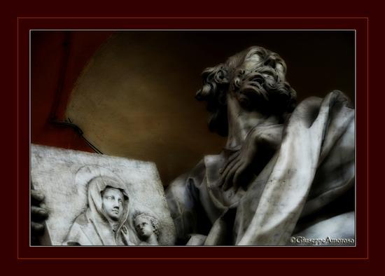 Particolare di una delle statue esterne della Basilica di S. Luca - Bologna (1596 clic)