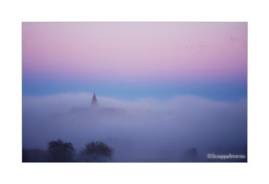 Nebbia a Castelnuovo.. - Castelnuovo della daunia (643 clic)