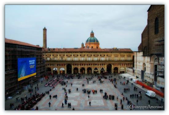 Piazza Maggiore - Bologna (1221 clic)