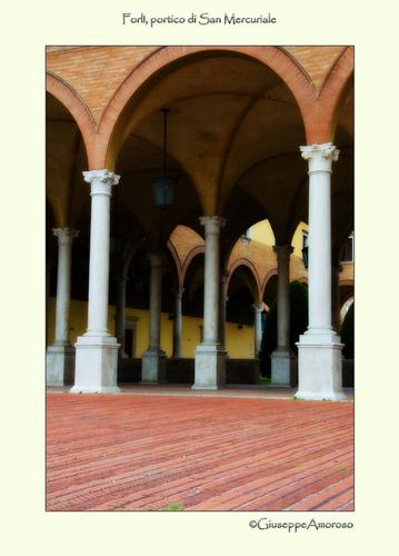 Portico di S.Mercuriale - Forlì (1152 clic)