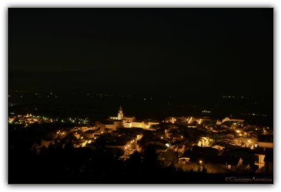 Castelnuovo della Daunia (Fg) by night (1550 clic)