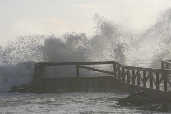Il pontile dei pescatori - Ostia (1974 clic)