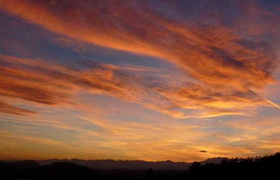 tramonto - Uggiate trevano (1102 clic)