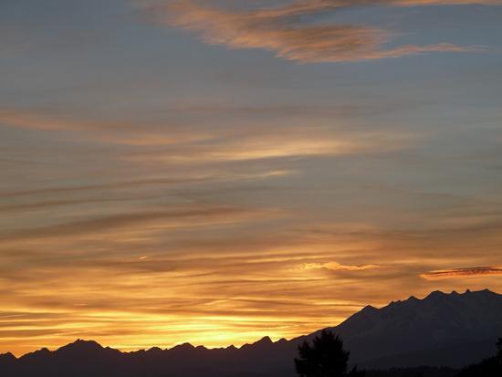 tramonto - Uggiate trevano (1098 clic)