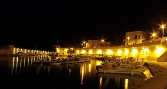 notturno romantico! - Tricase porto (1315 clic)