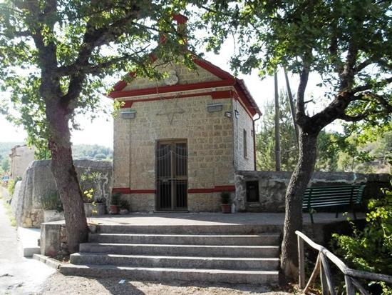 Cappella della Madonna del Monte Carmelo - Moliterno (1974 clic)