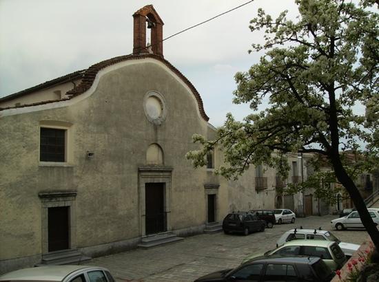 Chiesa del Rosario - Moliterno (1970 clic)