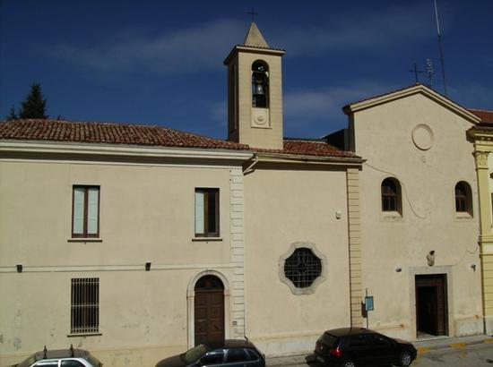 Chiesa Francescana di Santa Croce - Moliterno (1926 clic)