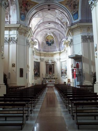 Interno Chiesa Madre dell'Assunta - Moliterno (3437 clic)