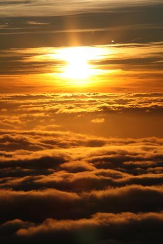 Mare di nuvole - Capranica prenestina (2297 clic)