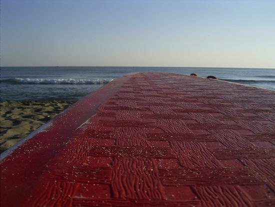 Ponte sul mare - Marina di grosseto (1070 clic)