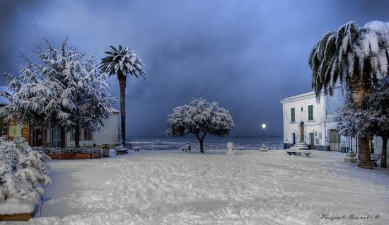 Insolita nevicata - Campomarino (4559 clic)