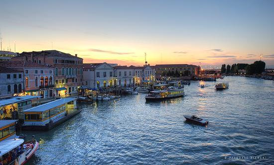 Venezia - tramonto (1476 clic)