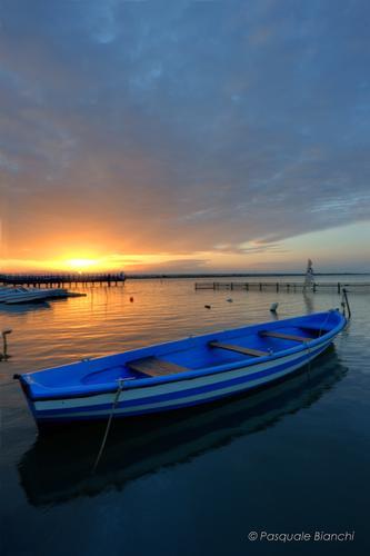 Tramonto - Marina di lesina (206 clic)