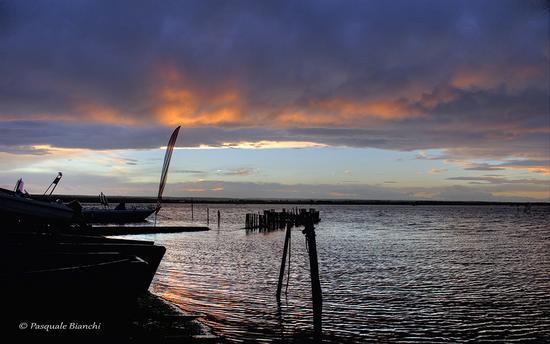 lago di Lesina - tramonto (1463 clic)