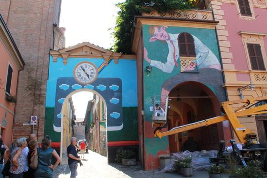 Il Muro dipinto - Dozza (3212 clic)
