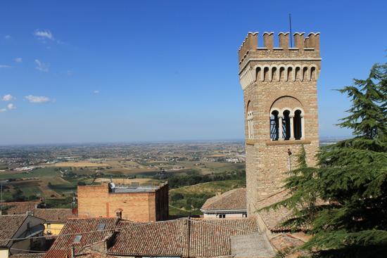 panorama romagnolo - Bertinoro (1394 clic)