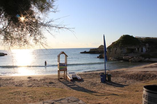 Spiaggia Torre S.Andrea (LE) al mattino. Un angolo incontaminato del Salento. - Torre sant'andrea (1761 clic)