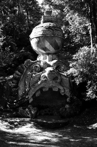 Parco dei Mostri  - Bomarzo (1298 clic)
