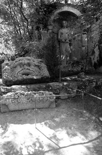 Parco dei Mostri  - Bomarzo (1320 clic)