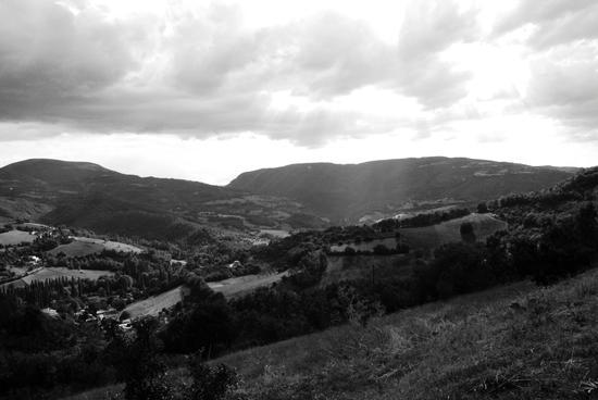 Vista da Casale Carocci - Preci (1245 clic)