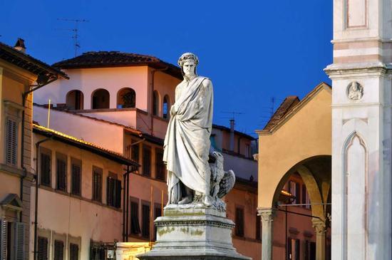 Il sommo Poeta - Firenze (3352 clic)