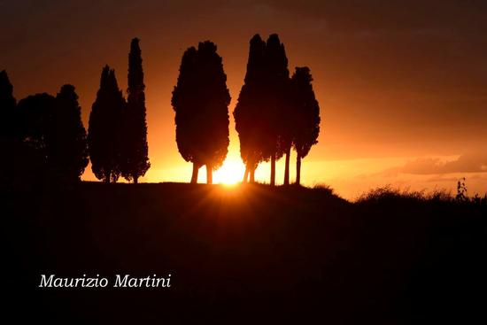 Tramonto in Toscana - Val d'orcia (2010 clic)