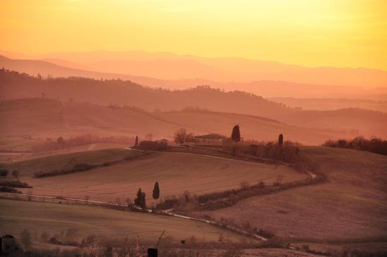 Tramonto sul Chianti - Castellina in chianti (5014 clic)