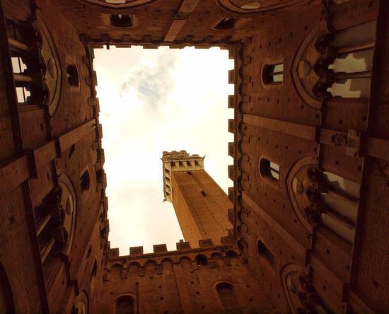 Dal cortile del podestà - Siena (4332 clic)
