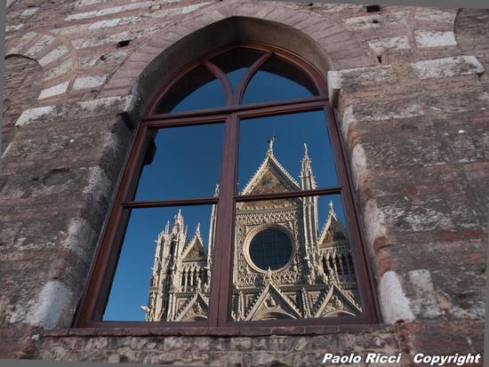 il duomo riflesso  - Siena (3397 clic)