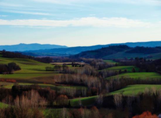 Val d'Orcia da S. Giovanni d'Asso  - San giovanni d'asso (1416 clic)
