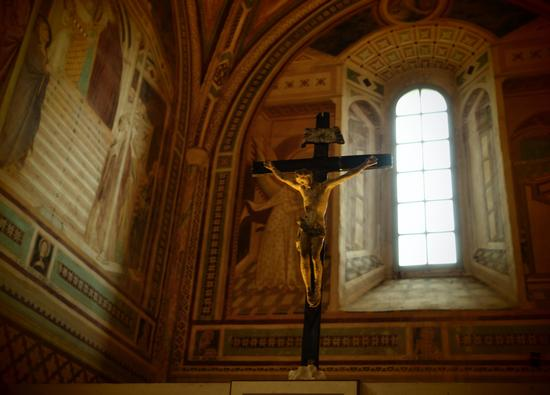 Eremo benedettino di S. Leonardo al Lago - Siena (2448 clic)