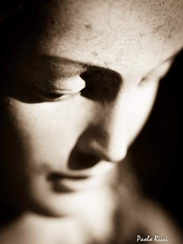 Particolare  della statua della Madonna   - Siena (2793 clic)