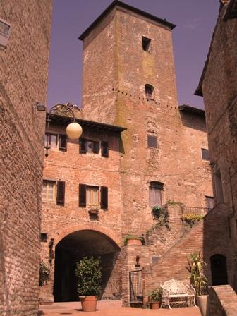 Borghi medievali in Toscana, Certaldo Alto (Firenze) (1853 clic)
