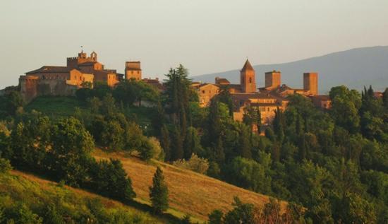 Borghi medievali in Toscana, Certaldo Alto (FI) (2024 clic)