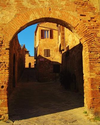 Borghi medievali in Toscana, Certaldo Alto (Firenze) (1881 clic)