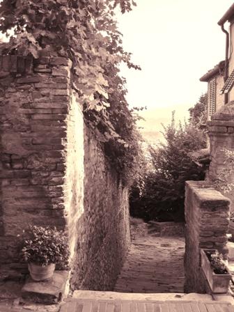 Borghi medievali in Toscana, Certaldo Alto (Firenze) (2273 clic)