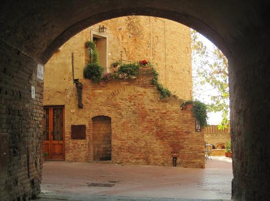 Borghi medievali in Toscana, Certaldo Alto (Firenze) (2041 clic)