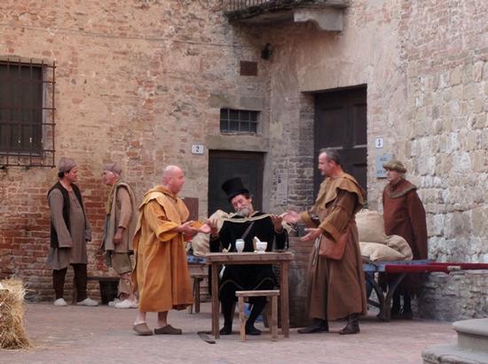 Borghi medievali in Toscana, Certaldo Alto (Firenze) (1223 clic)