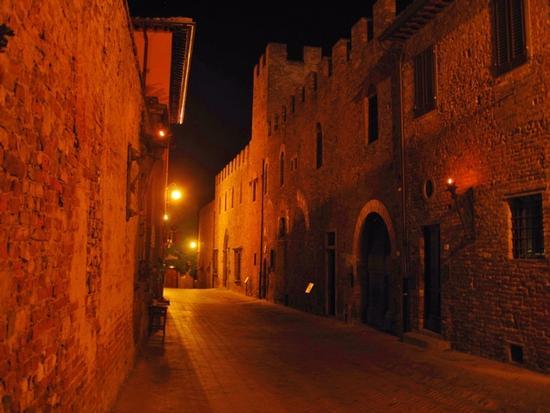 Borghi medievali in Toscana, Certaldo Alto (Firenze) (2875 clic)