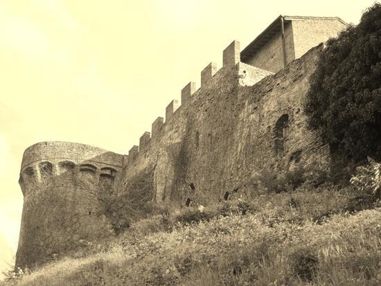 Borghi medievali in Toscana, Certaldo Alto (Firenze) (1337 clic)