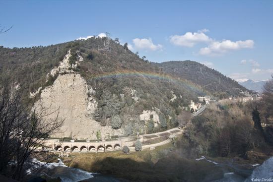 Vista delle cascate delle marmore (476 clic)