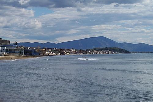 Foto della costa di Scauri (LT) (1445 clic)