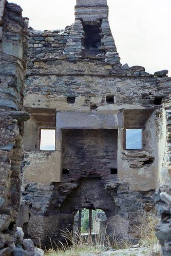 La faccia nel castello - Aosta (3702 clic)
