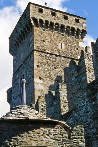 Castelli valdostani - Fenis (4782 clic)