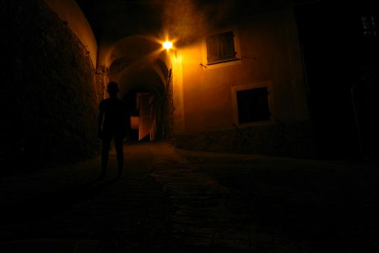 in the dark - Varese ligure (1701 clic)
