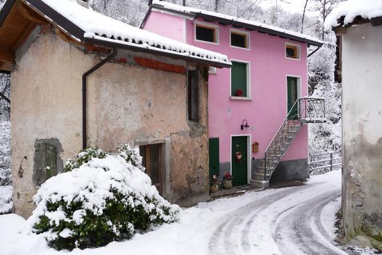 Passeggiata con la neve - Lumezzane (1390 clic)